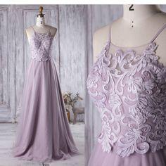 2017 Light Purple Bridesmaid Dress Long, Spaghetti Straps Wedding Dress, A Line Prom Dress, Backless Evening Gown Floor Length (CS008) by RenzRags on Etsy https://www.etsy.com/listing/467581201/2017-light-purple-bridesmaid-dress-long