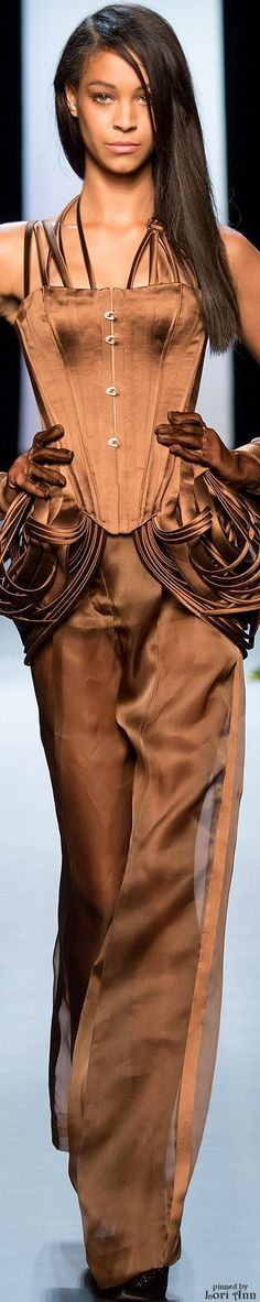 Jean Paul Gaultier Couture Spring 2015 | The House of Beccaria#