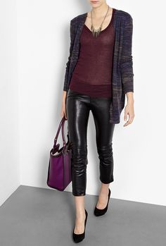 Need some skinny leather trousers in my life!