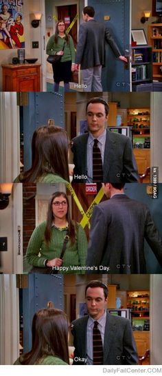 NOT A care given by Sheldon Cooper