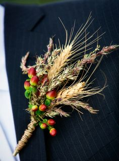 Wheat and berries: must-haves in a fall bout