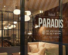 Hotel Paradis in Paris France