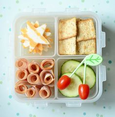 The convenience of a pre-packaged lunch, but healthier!