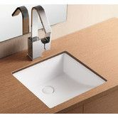 Found it at Wayfair - Ceramica II Undermounted Bathroom Sink