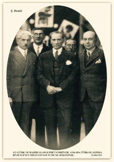Atatürk Ankara Türk ocağı. 21.04.1931