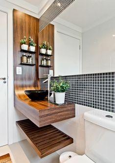 Como fazer seu banheiro parecer maior #hogarhabitissimo