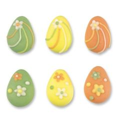 Easter Egg Cake Toppers