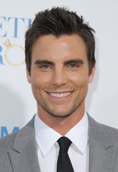 """Colin Egglesfield Photos - Actor Colin Egglesfield arrives at the premiere of Warner Bros. """"Something Borrowed"""" held at Grauman's Chinese Theatre on May 2011 in Hollywood, California. - Premiere Of Warner Bros. """"Something Borrowed"""" - Arrivals Colin Egglesfield, Gorgeous Men, Beautiful People, Pretty People, Cristian Grey, The Client List, Michigan, Star Wars, Raining Men"""