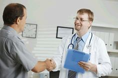 Doctor Greeting Patient