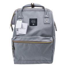 404243c979b8 Anello Official Grey Japan Fashion Shoulder Rucksack Backpack Hand Carry  Tablet Travel Diaper Bag Unisex Backpack