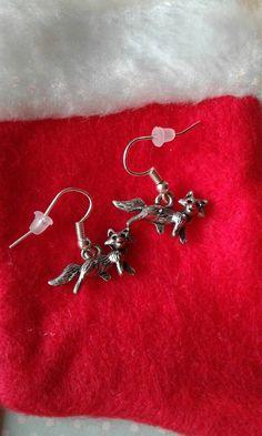 $5.00 Fox Earrings