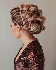 Elegant Wedding Hairstyles from  hairbysaretta #weddings #hairstyles #weddingideas #hair