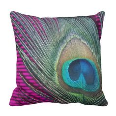 Purchase Decorative Decorative Throw Pillow Case Cushion Cover Peacock Feather Pink pillow cases Size inches Two Side from Wallis Flora on OpenSky. Share and compare all Home. Pink Pillow Cases, Pink Pillows, Throw Pillow Cases, Peacock Decor, Peacock Art, Peacock Theme, Colour Pallette, Pink Feathers, Custom Pillows