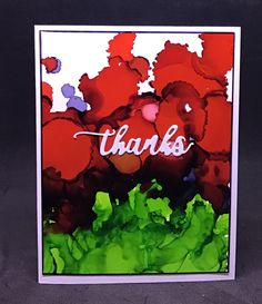 Love the vibrant red in this alcohol ink background. Handmade Greetings, Greeting Cards Handmade, Ark, Vibrant, Alcohol, Design, Rubbing Alcohol, Liquor, Design Comics