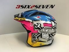 Open face Guy Martin helmet