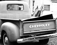 Vintage Old Navy Chevy Truck 8 x 10 Fine Art by TraciDPhotography, $22.00