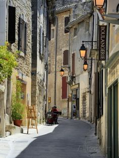 Traditional Old Stone Houses, Les Plus Beaux Villages De France, Menerbes, Provence, France, Europe Photographic Print by Peter Richardson at AllPosters.com