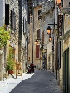 Traditional Old Stone Houses, Les Plus Beaux Villages De France, Menerbes, Provence, France, Europe Fotoprint
