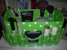Clever Container Stuff it  Hold your make up, hair stuff, toys, arts & Crafts, the possibilities are endless