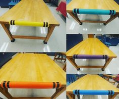 33 Genius Ways to Use Pool Noodles in Your Classroom Pool Noodle Uses for the Classroom - 33 Brilliant Ideas Art Classroom Decor, Art Classroom Management, Classroom Hacks, New Classroom, Classroom Setup, Classroom Design, Classroom Displays, Preschool Classroom, Classroom Organization