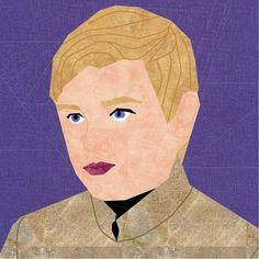 Fandom In Stitches: Game of Thrones Lannister Children  Tommen  by misha29.com Free from fandominstitches.com Free for personal and non-profit use only