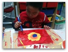 Little Miss Kindergarten - Lessons from the Little Red Schoolhouse! Process vs Product Art and Book Suggestions!