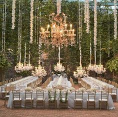 Outdoor setting transformed - La Lumiere, New Zealand. http://www.purenzweddings.com/blog/weddings/why-new-zealand-is-the-destination-of-choice-for-weddings