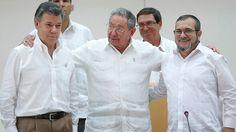 El pacto sobre justicia anunciado en La Habana contempla un amplio espectro de…