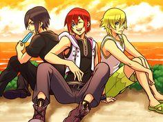 Xion, Kairi, & Namine genderswap <---- this is kind of cool, I've never seen any Kingdom hearts genderswaping before!