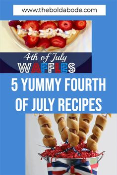 Make your Fourth of July awesome this year! Add some yum to your July 4th menu this year with these 5 great recipes! Oreo Truffles Recipe, Truffle Recipe, Fourth Of July Food, July 4th, Simple Recipes, Great Recipes, Learn To Cook, Food To Make, Blue Cookies