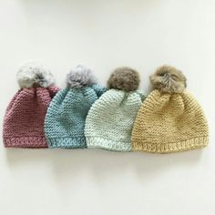 Cotton Baby beanies. Hats for babies. Winter hats for toddlers. Mint, dusty blue, dusty pink and cappuccino beanie for babies. Winter hats.