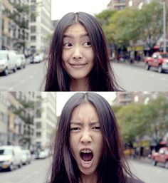 Liu Wen! perfect skin and hair