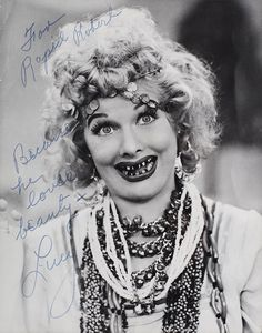 Lucille Ball Inscribed Photograph To Bob Hope
