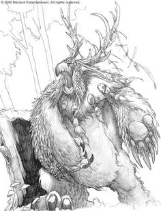 Warcraft - The First Moonkin by SamwiseDidier on DeviantArt World Of Wacraft, Warcraft Funny, Mass Effect Cosplay, Blizzard Warcraft, Cosplay League Of Legends, Night Elf, Les Themes, Creature Drawings, Wow Art