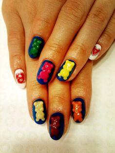 Angeldevil nails pinterest devil nail nail and makeup 101 nail prinsesfo Choice Image