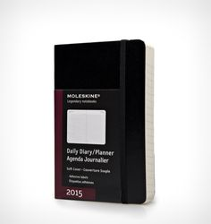 Keeping organised doesn't have to be a banal and monotonous task with the Moleskine pocket diary.