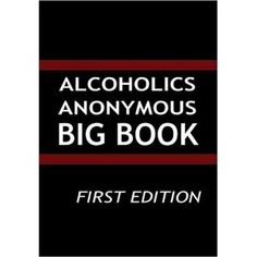 Read this for book club. Alcoholics Anonymous, Geek, Club, Reading, Big, Happy, Books, Libros, Book