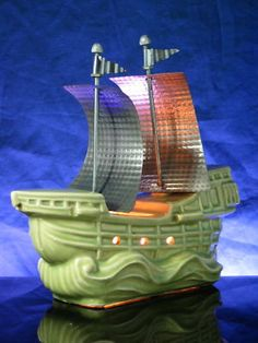 Vintage nautical tv lamp...