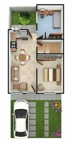 45 New Ideas House Plans Planos De Casas Sims House Plans, Small House Floor Plans, Home Design Floor Plans, House Layout Plans, Dream House Plans, House Layouts, House Construction Plan, Model House Plan, Apartment Layout