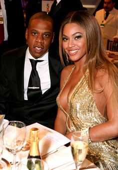 Jay-Z and Beyonce dazzled at the Golden Globes