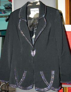 Nina Massini Blazer Size 8 #NinaMassini #Blazer