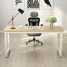 Home Desk, Home Office Space, Home Office Desks, Office Decor, Diy Office Desk, Office Table, Office Ideas, Large Office Desk, Work Station Desk