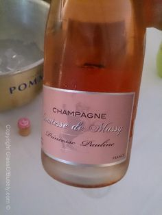 #Champagne Comtesse de Massy rose.