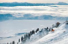 Epic views of Lake Tahoe. photo: Scott Sady. On SkiMag.com