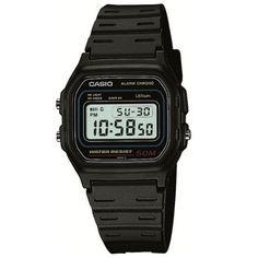 b8970d5f95ab Casio G-Series Resin Band W-59-1V Black Men s Watch Digital Watch