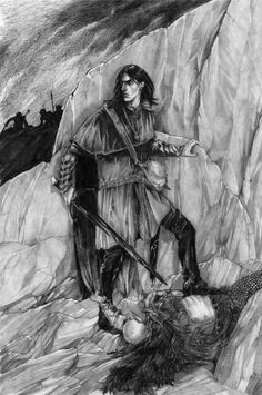Maeglin returned to Gondolin saying nothing about his encounter with Morgoth, but many people noticed a change. Most thought it was for the better, though Idril suspected something and began work on Idril's Secret Way.
