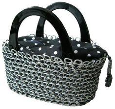 soda pop tabs crafts | tote purse