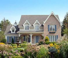 Country, Victorian home