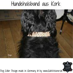 Hundehalsband aus Kork