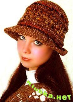 Бежевая шляпка